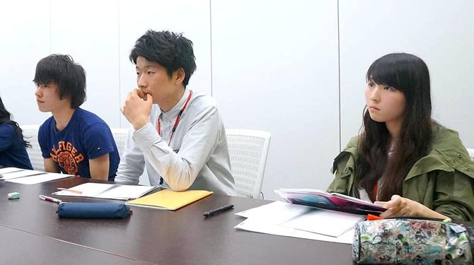 マメアカ二期生全員参加です♪(左からこじー、とみー、くぜやん)