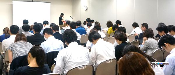 会場は満席!ご来場いただいた皆様ありがとうございます。